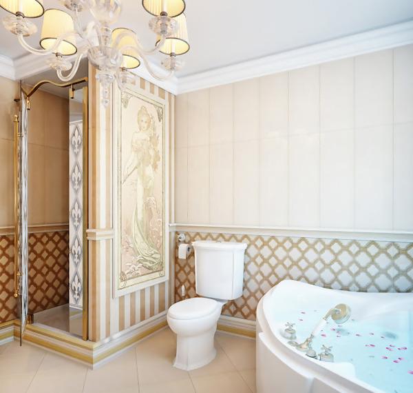 elegant Bathroom Shower
