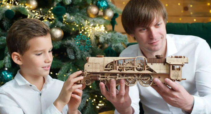 UGears wooden model kits for adults: share your smile!
